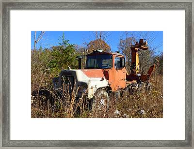 Big Mack Framed Print