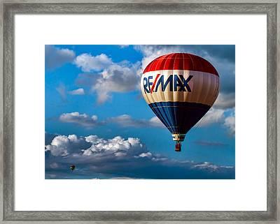 Big Max Re Max Framed Print by Bob Orsillo