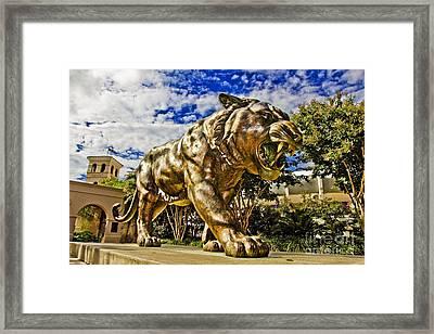 Big Mike Framed Print