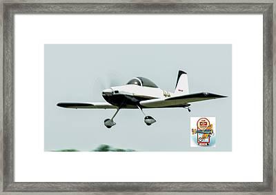 Big Muddy Air Race Number 44 Framed Print