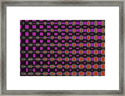 Big Mushroom Abstract Framed Print by Tom Janca
