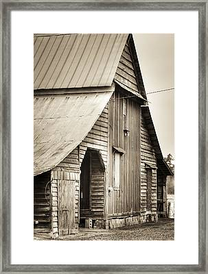 Big 'ol Barn Framed Print by Andrew Crispi