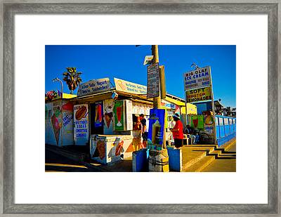 Big Olaf Framed Print by Craig Perry-Ollila