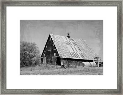 Big Ole Barn Framed Print
