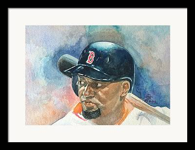 Red Sox Nation Paintings Framed Prints