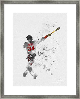 Big Papi Framed Print