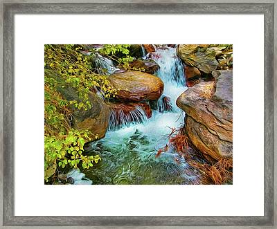 Big Pine Creek Framed Print