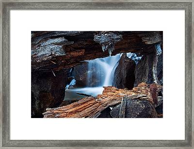 Big Pine Creek Framed Print by Nolan Nitschke