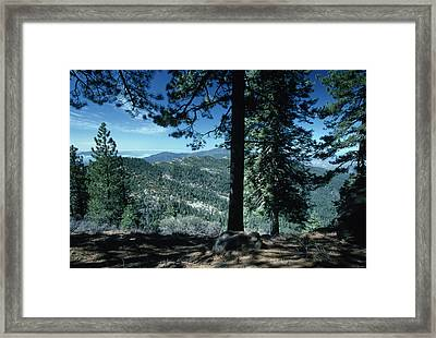 Big Pine Mountain - San Rafael Wilderness Framed Print by Soli Deo Gloria Wilderness And Wildlife Photography