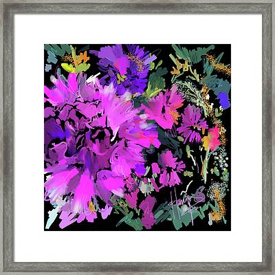 Big Pink Flower Framed Print