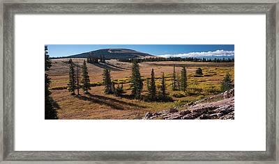 Big Powderhorns Sunrise Wyoming Framed Print by Steve Gadomski