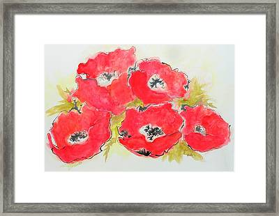 Big Red 1 Framed Print
