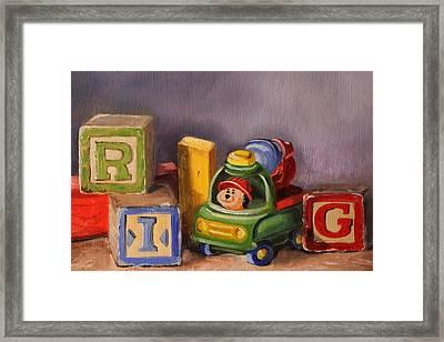 Big Rig Framed Print
