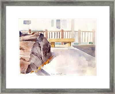 Big Rock 1 Framed Print by Linda Berkowitz