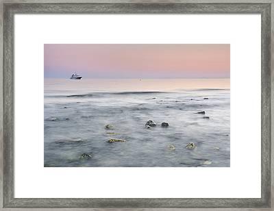 Big Ship  Framed Print by Guido Montanes Castillo