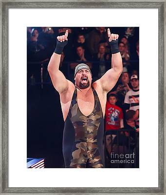 Big Show Framed Print by Wrestling Photos
