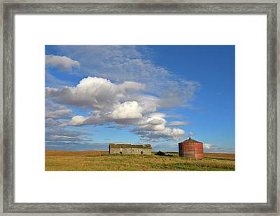Big Skies Framed Print