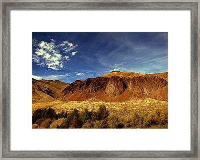 Big Sky 2 Framed Print by Irma BACKELANT GALLERIES
