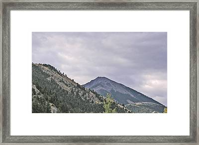 Big Sky Country - Montana Framed Print by Janis Beauchamp
