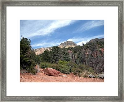 Big Sky Country Framed Print by Jeanette Oberholtzer