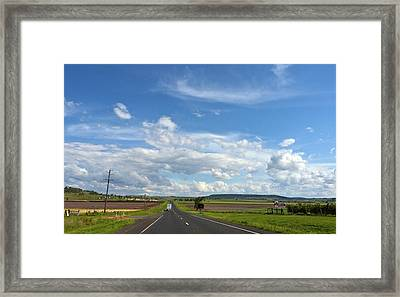 Big Sky Country Framed Print by Odille Esmonde-Morgan