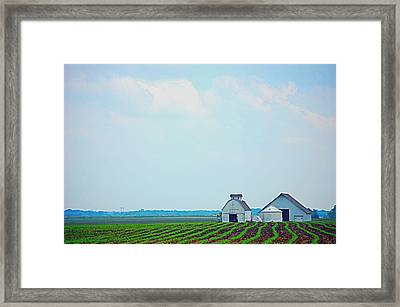 Big Sky In Spring Framed Print by Jame Hayes
