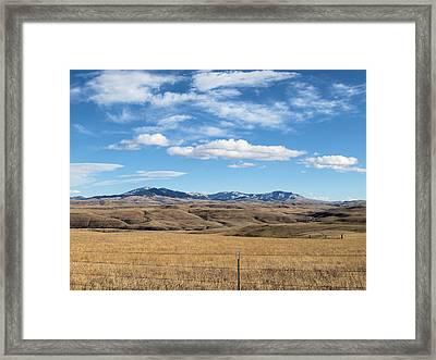 Big Sky Montana Framed Print by Jessica Yudis