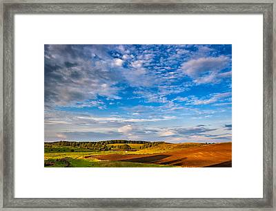 Big Sky Ontario Framed Print by Steve Harrington