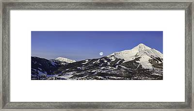 Big Sky Panorama Framed Print