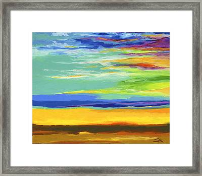 Big Sky Framed Print by Stephen Anderson