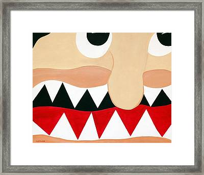 Big Smile Framed Print