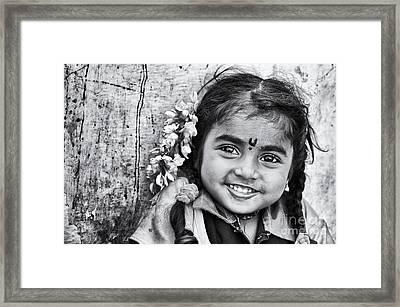 Big Smile Framed Print