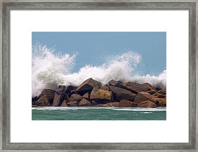 Big Splash Framed Print by Dan Holm