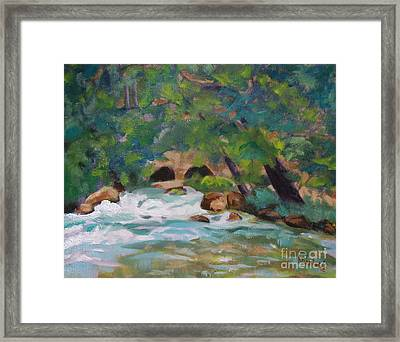 Big Spring On The Current River Framed Print
