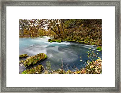 Big Spring Swirl Framed Print