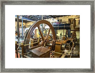 Big Steam  Framed Print