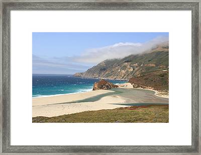 Big Sur Beach Framed Print