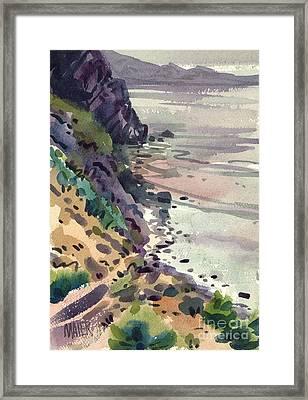 Big Sur California Framed Print