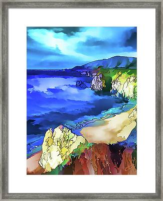 Big Sur Coast Framed Print