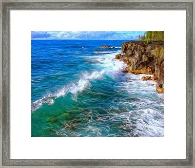 Big Sur Coastline Framed Print