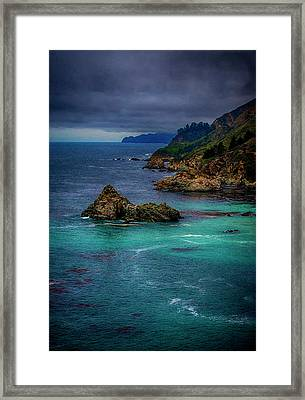 Big Sur Coastline Framed Print by Joseph Hollingsworth