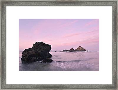 Big Sur Dawn Framed Print by Stephen  Vecchiotti