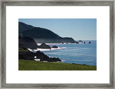 Big Sur  Framed Print by Doron  Hanoch