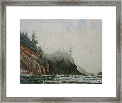 Big Sur Framed Print by Howard Stroman