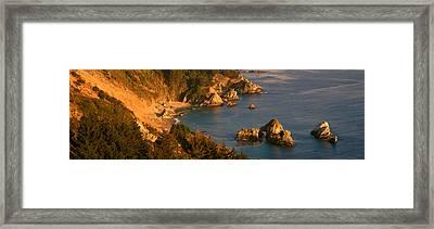 Big Sur In Springtime, California Framed Print