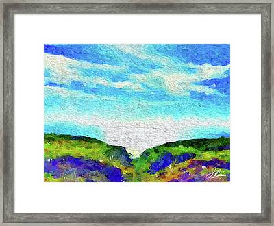 Big Sur Framed Print by Joan Reese