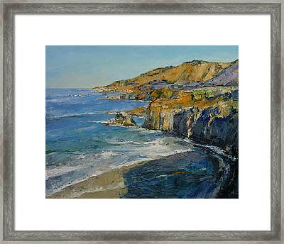 Big Sur Framed Print by Michael Creese