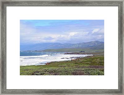 Big Sur Scenery Framed Print