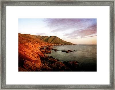 Framed Print featuring the photograph Big Sur by Scott Kemper