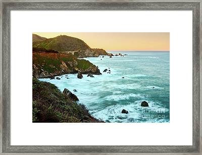 Big Sur Sunrise Framed Print